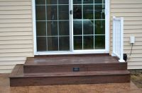 composite landing and stairs - Google Search | Patio's and ...