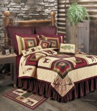 Pine Cone Lodge Standard Bedding Set | Cabin Bedding ...