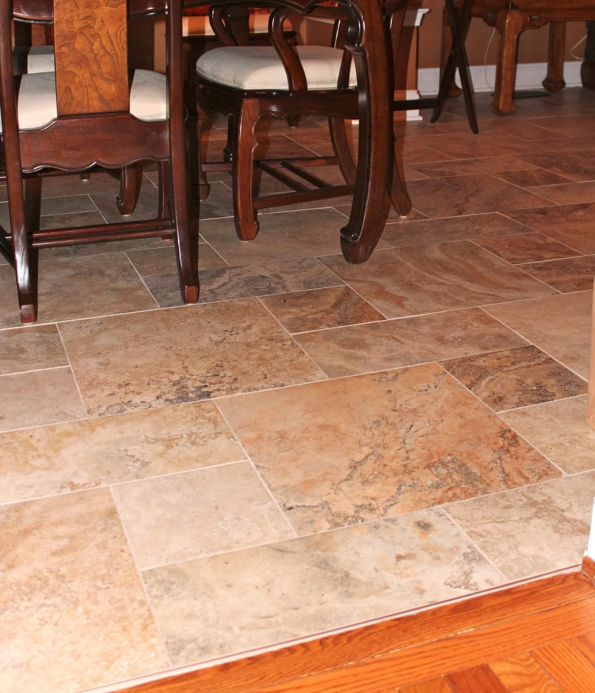 Dining Room Tile Ideas Dining Room Nice Tile Floor Pattern The Different