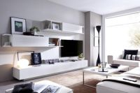 Rimobel Duo Modern Sideboard and Wall Cabinet Living Room ...