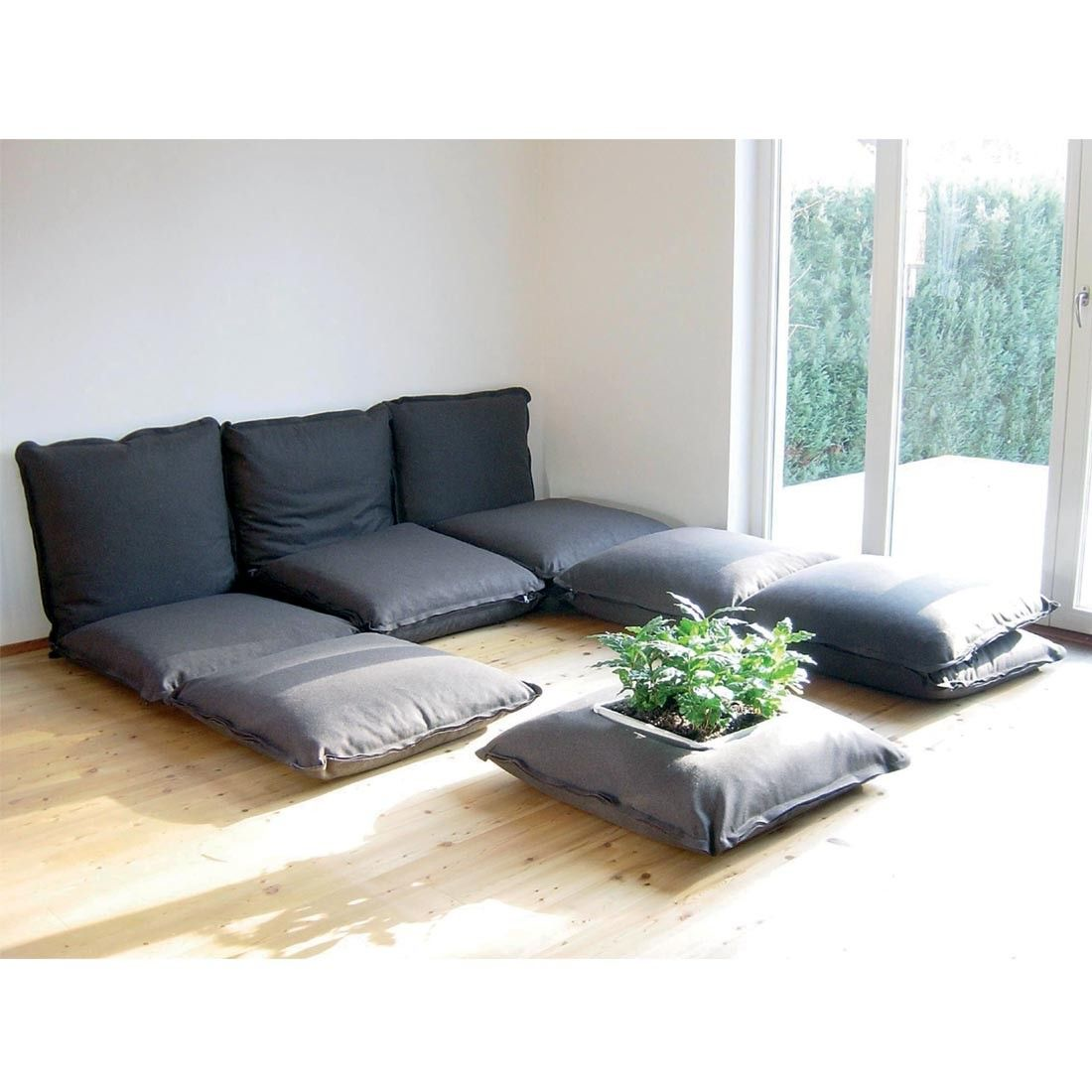 Big Cushion Sofa Zipzip Modular Cushions Floor Cushions Home