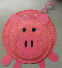 Pig Paper Plate Craft & Pretty Pig Paper Plate Bank