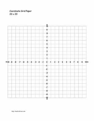 Practice Your Graphing With These Printables Numbers, Math and - free printable grid paper for math