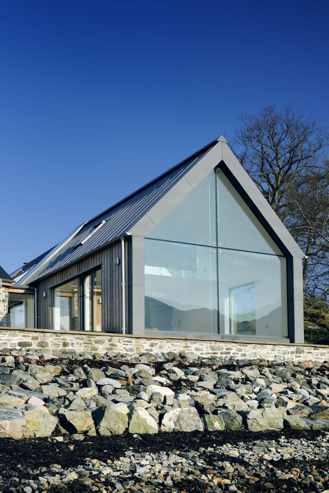 House Designs Scotland Loch Duich Rural Design Architects Isle Of Skye And
