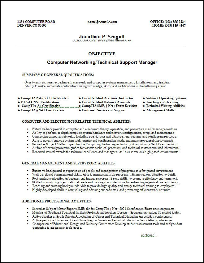 Technical Resume Format Technical Resume Samples Free Resumes - free download biodata format