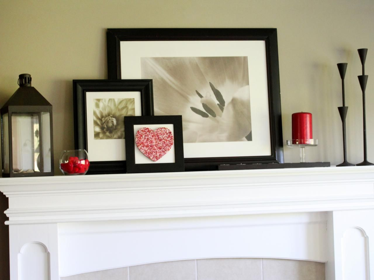 Modern Fireplace Mantel Decor Decorate Your Mantel Year Round Mantels Decorating And Hgtv