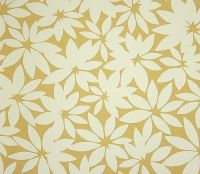 Summer Leaves Wallpaper A stylised contemporary floral ...