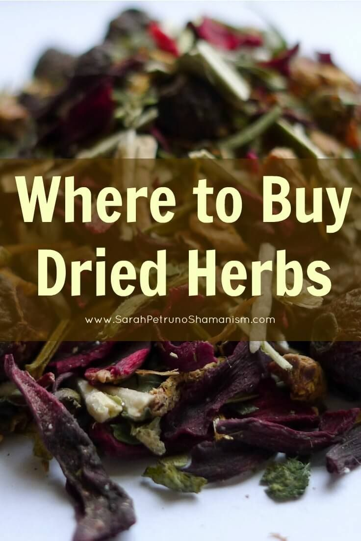 Where to buy dried herbs online and near you