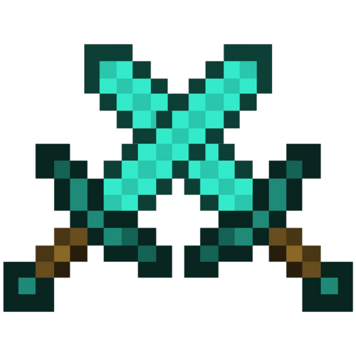Minecraft Crossed Swords