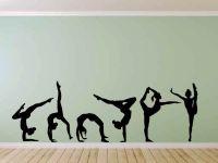 Gymnast Gymnastics Vinyl Wall Decal Sticker Large Made ...