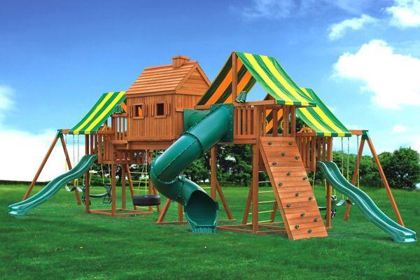 Backyard+Playgrounds Backyard Playground Equipments Modern - home playground ideas