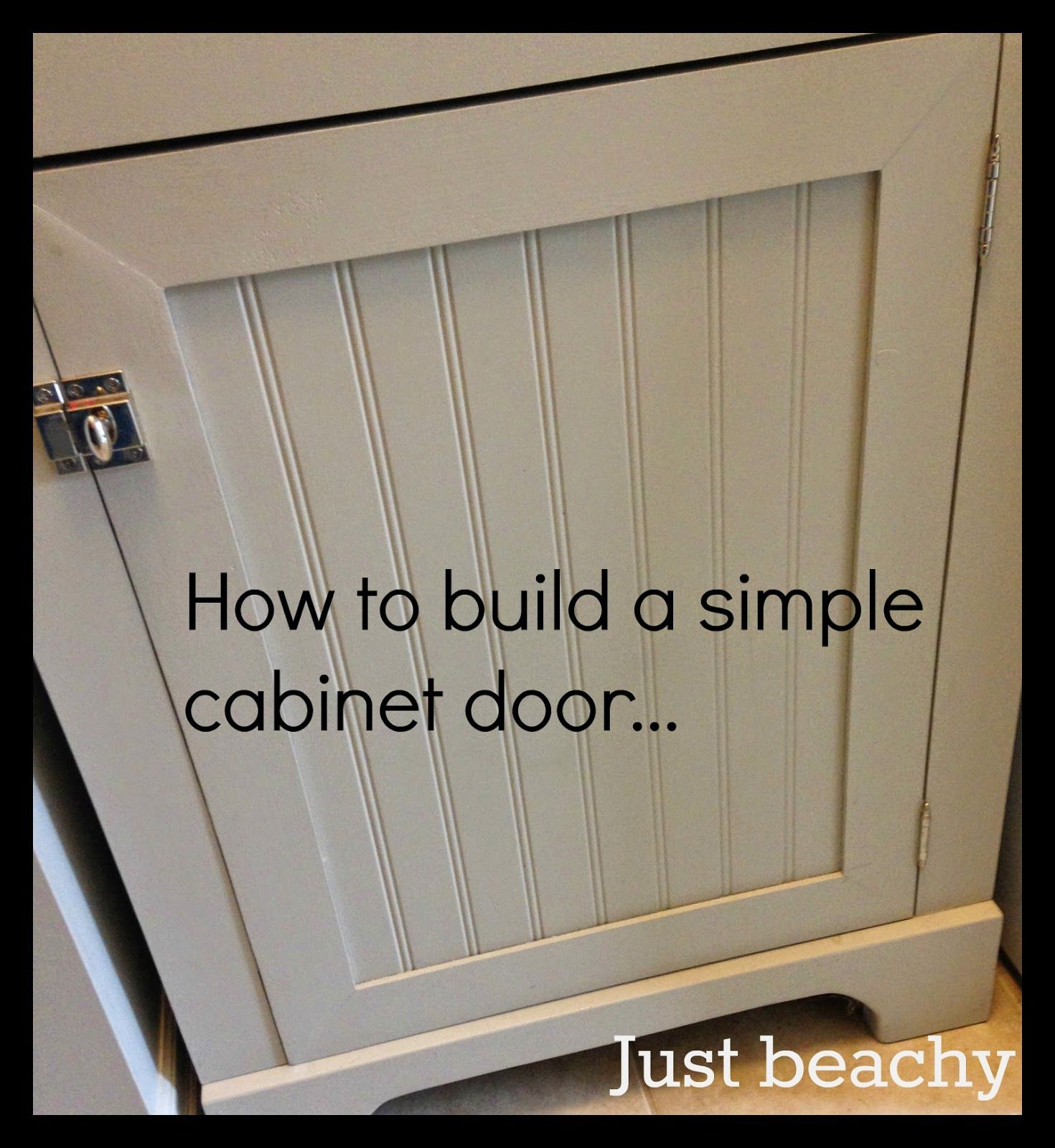 Make Kitchen Cabinet Doors Diy Tutorial How To Build Simple Shaker Style Cabinet