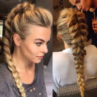 Pull through ponytail braid | Braids | Pinterest ...