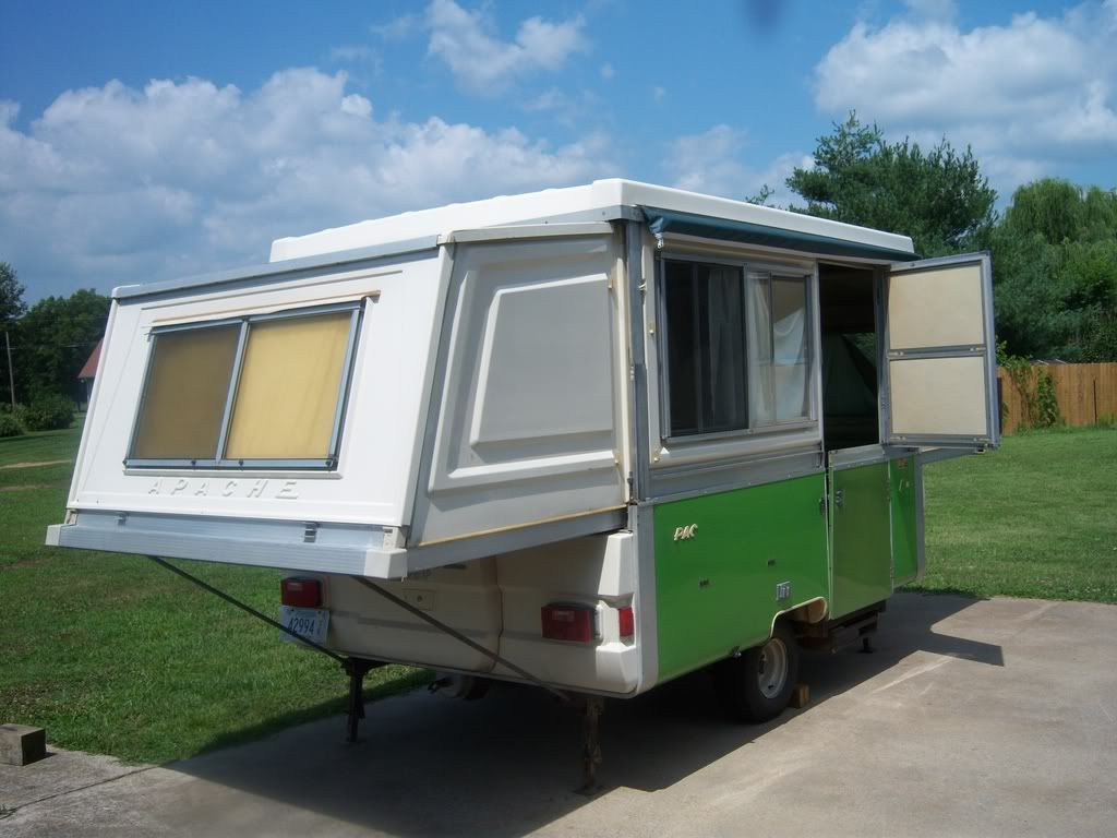 Mesa Camper Gorgeous 1975 Apache Mesa Hard Side Pop Up Camper