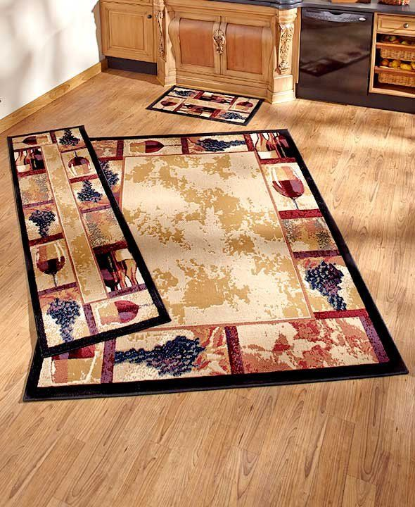 Tuscan Grape Themed Kitchen Rugs Accent Runner Area Stain - wine themed kitchen ideas
