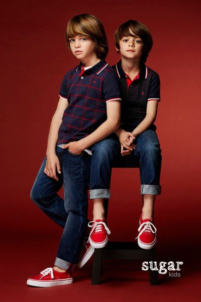 Leo & Dylan from Sugar Kids for Carolina Herrera Fall 2016 ...