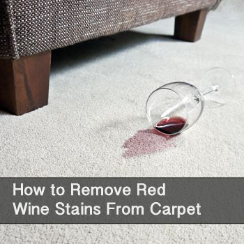 How To Remove Red Wine Stains From Carpet Red Wine