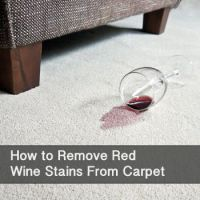 How to Remove Red-Wine Stains From Carpet | Red wine ...