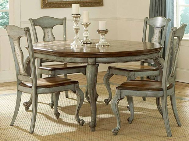 paint formal dining room table painted