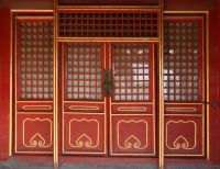 CHINESE ANTIQUE DOORS | Fanciful Latticework on Doors and ...