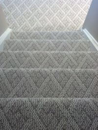Berber carpet Cincinnati, Ohio installed on steps and ...