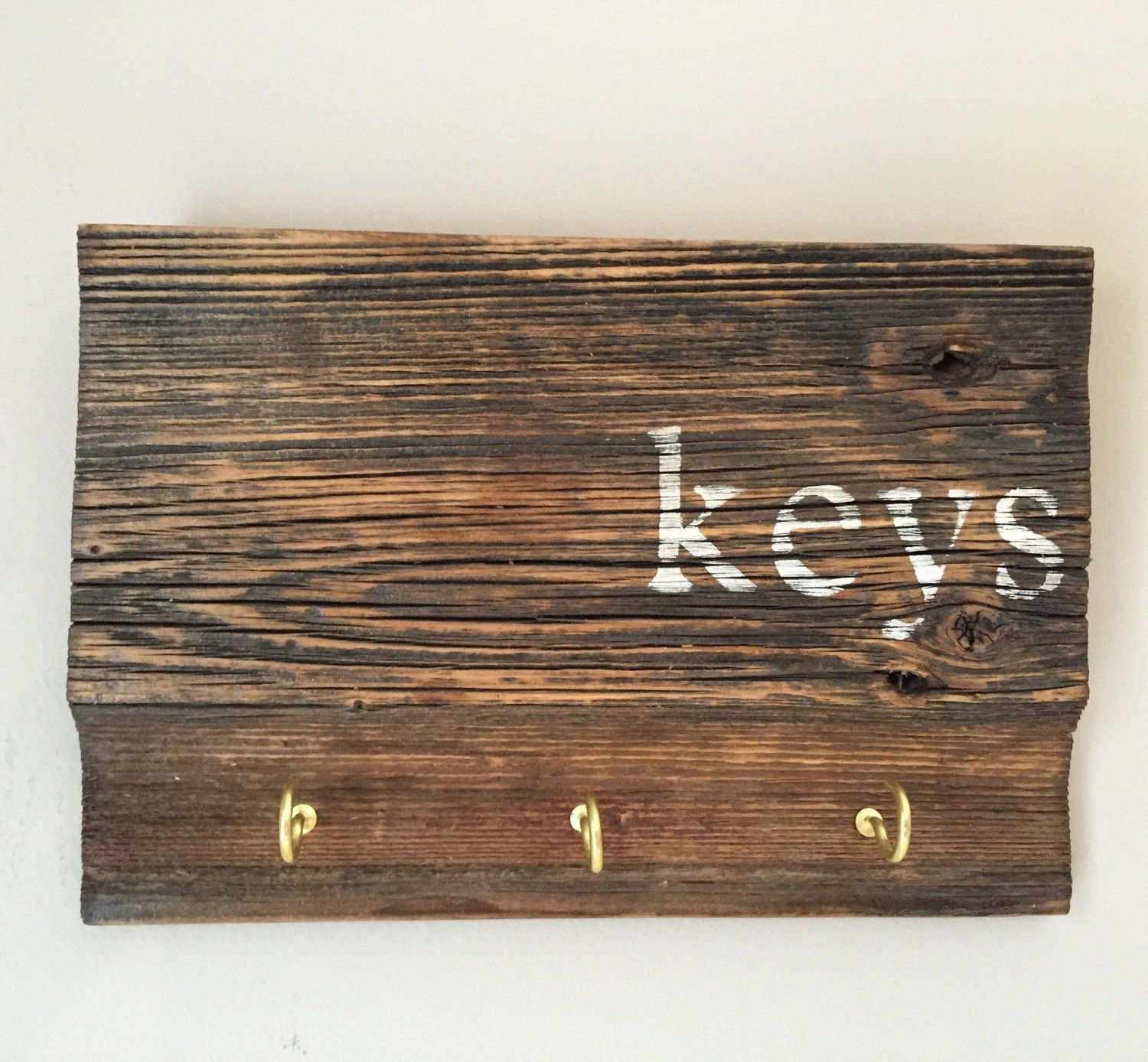 Wood Key Holder For Wall Key Holder Rustic Wood Sign Key Holder Key Holder For