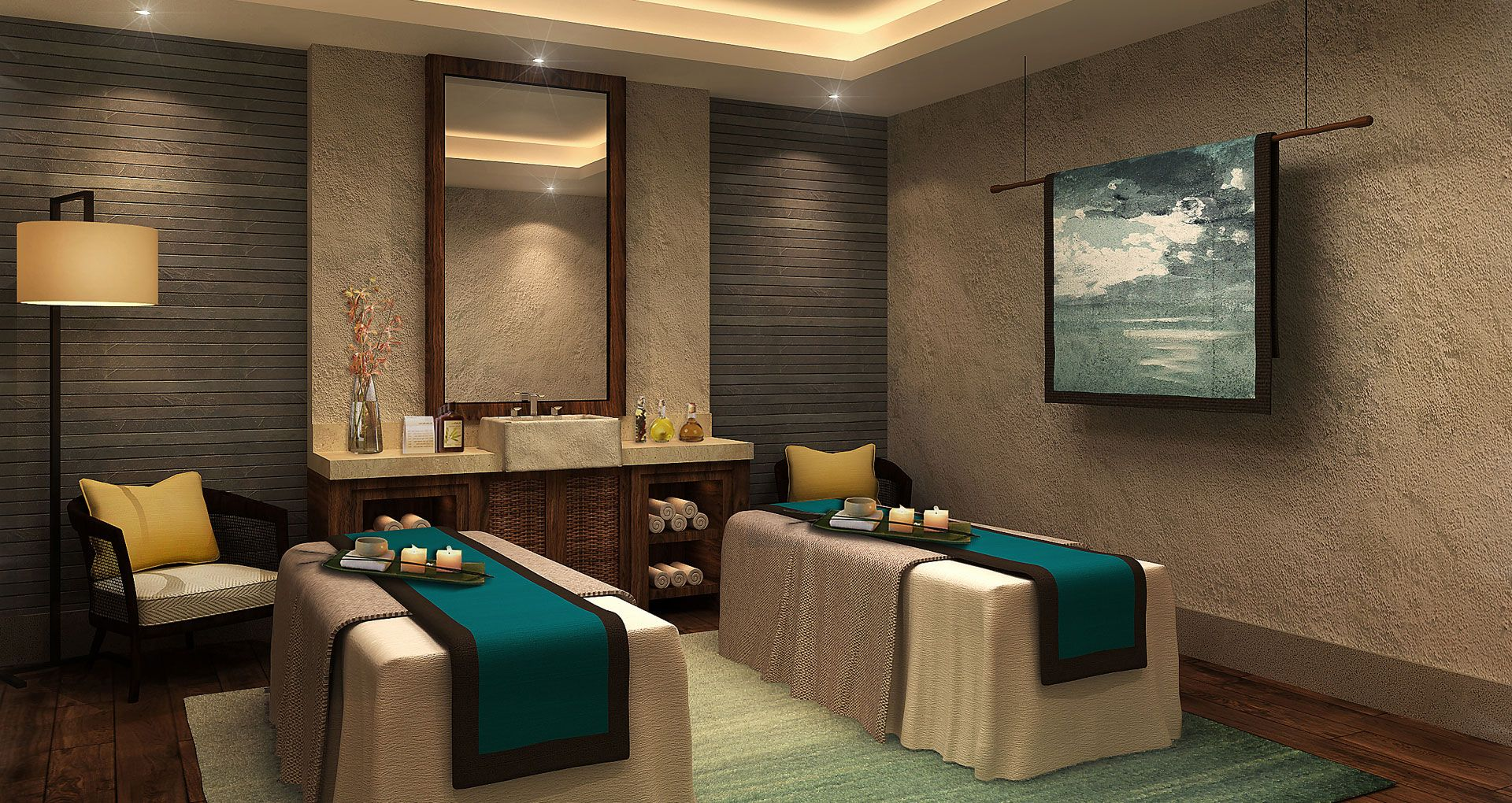 Salons Design Zhangzhou Half Moon Hill Hot Spring Resort And Spa Interior