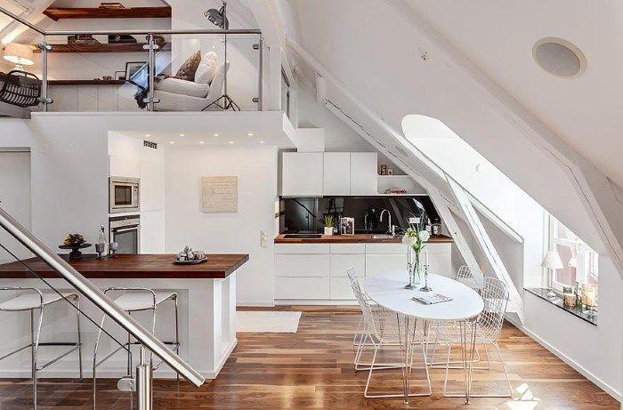 ... Dachgeschoss Loft In Stockholm   Kreative Wohnideen Ideen   Kreative  Wohnideen ...