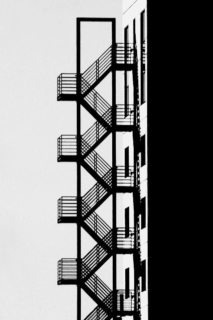 Emergency Stairs Amsterdam By Ivo Mathieu Gaston