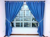Light Blue Curtains Living Room Sky Designs   Thomas the ...