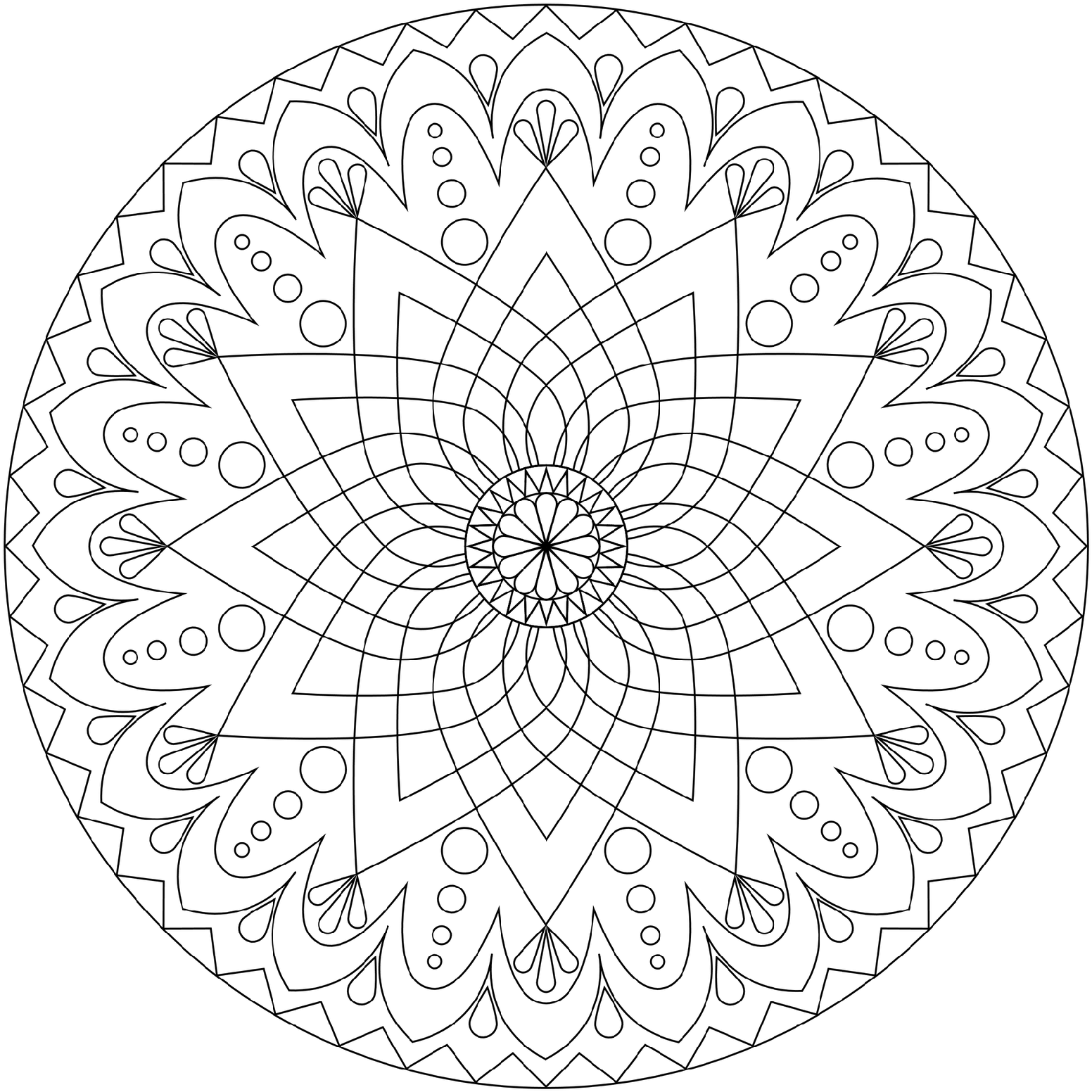 Coloring pages coloring pages printable mandala coloring pages