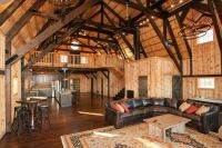 Inside of a barn turned into a house I love this | House ...