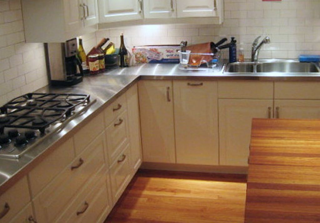 Modern Kitchen With Stainless Steel Countertops The 1st