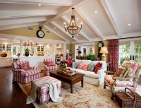 20 Dashing French Country Living Rooms | French country ...