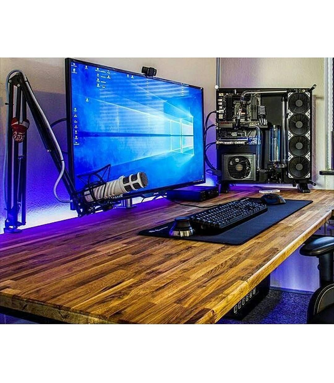 Pc Gaming Desk Best 25 43 Gaming Computer Desk Ideas On Pinterest Gaming