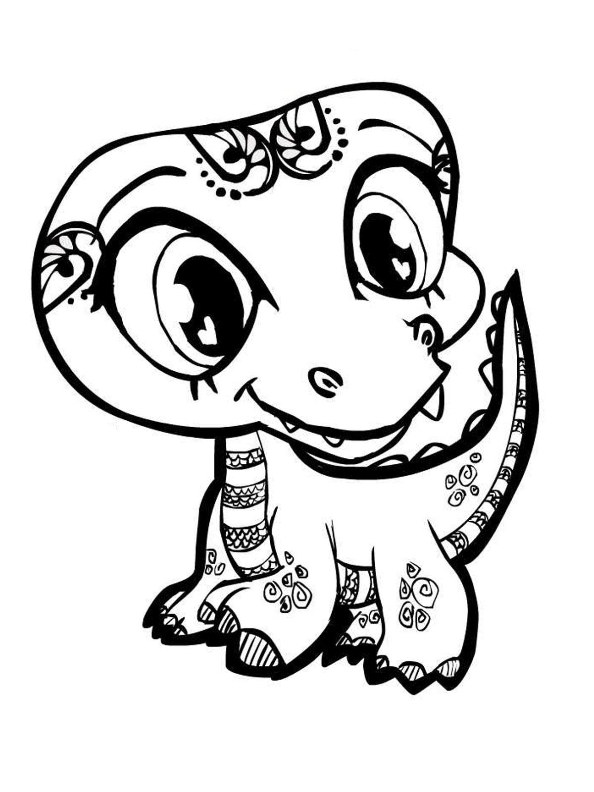 Cute smiling alligator kids coloring pages realisticcoloringpages com