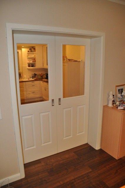 Landhaus-Schiebetür im Wohnzimmer türen Pinterest Landhäuser - inneneinrichtungsideen wohnzimmer kuche