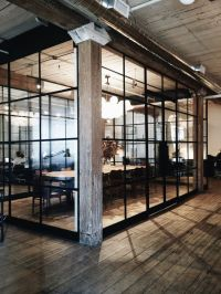 interior commercial rustic office design ideas | office ...
