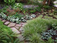 shady landscape ideas | corner garden ideas - gardening ...