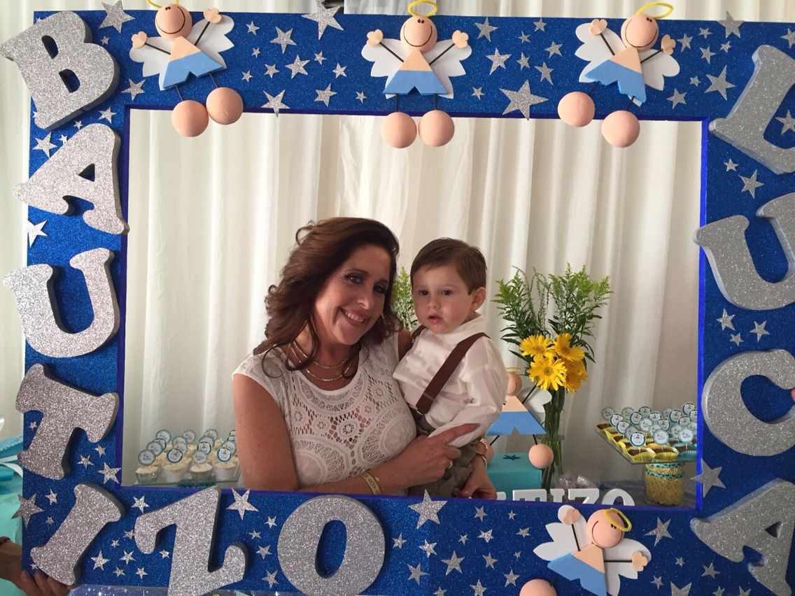 Foto Decoration Baptism Picture Frame Baptism 1st B Day Party Ideas