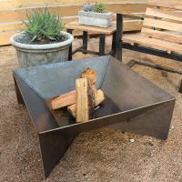 40 Backyard Fire Pit Ideas | Steel fire pit, Steel and ...