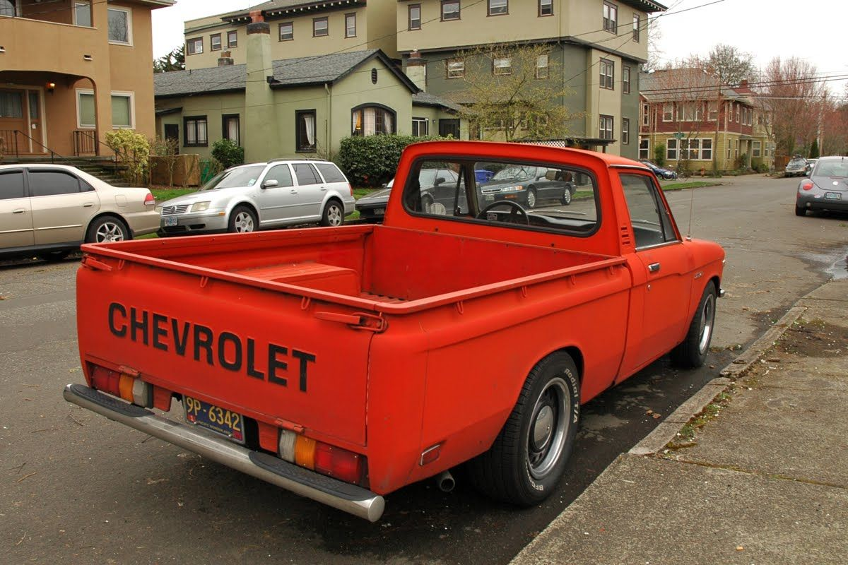 Baby Truck The First Car 1973 Chevy Luv Truck Drove That Baby From