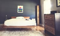 hairpin legs platform bed