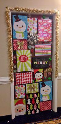 Christmas door #dorm #college #christmas |  college ...