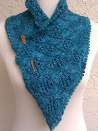 Free Knitting Pattern for My Dolphin Cowl