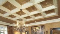 crown moulding coiffered ceilings and millwork | coffered ...