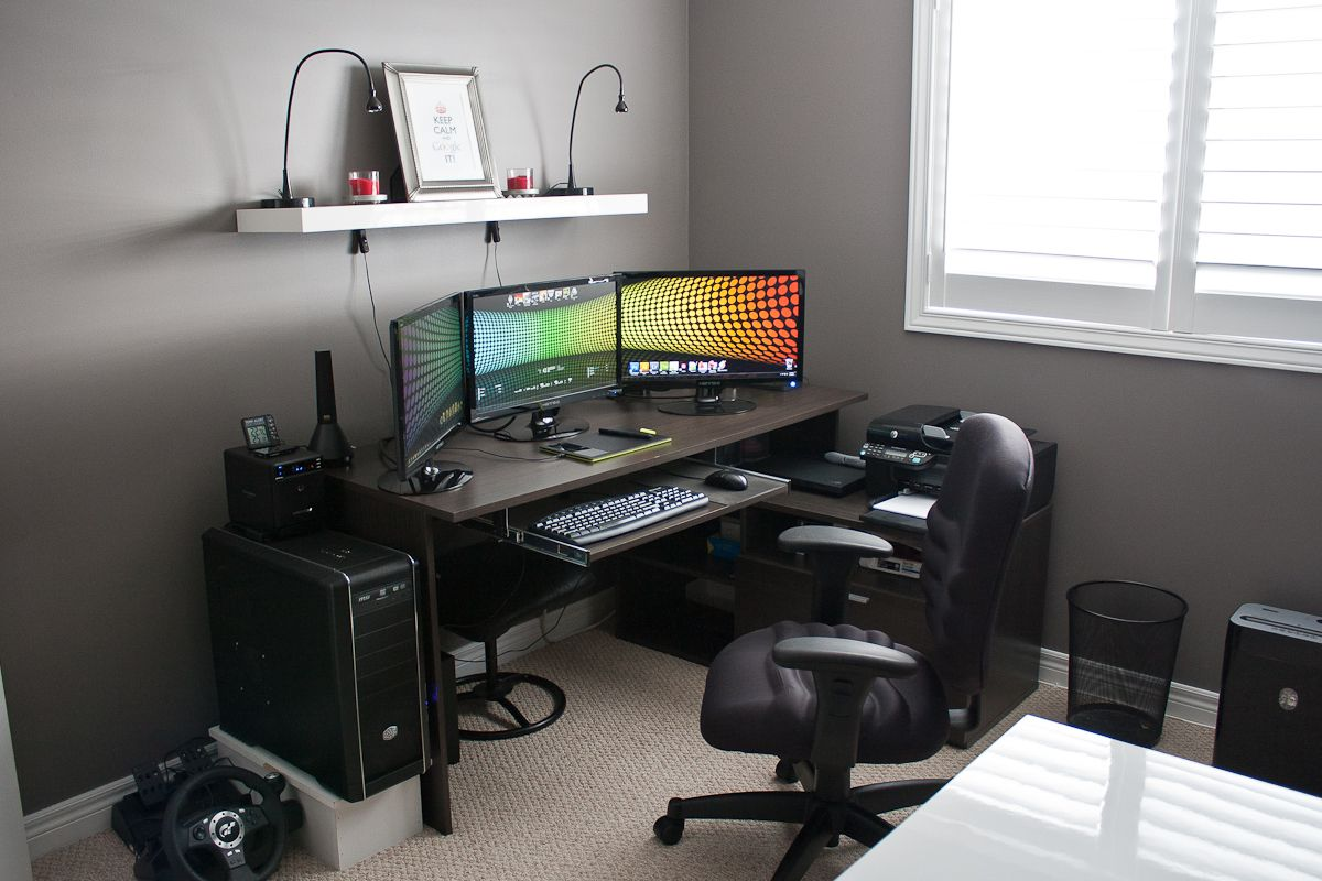 Home Office Desk Setup Show Your Lcd S Setups Page 1064 H Ard Forum