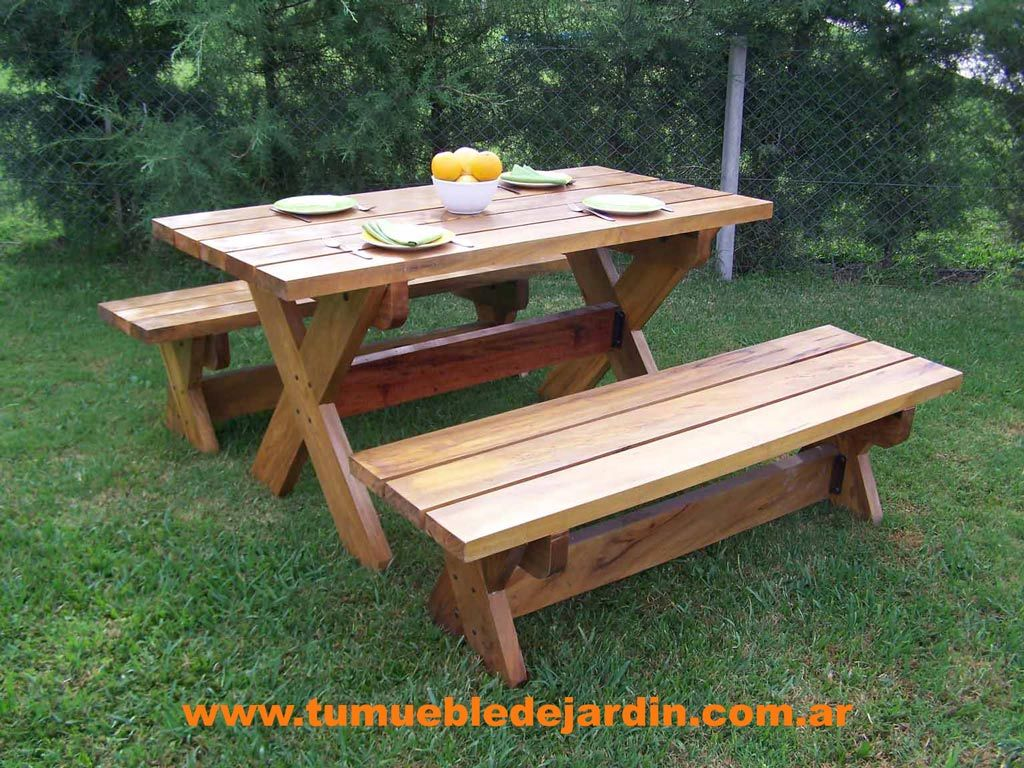 Mesas De Madera Para Patio Best 25 43 Mesa Picnic Madera Ideas On Pinterest Mesas De