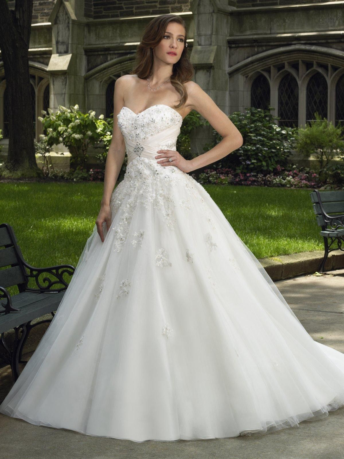 sweetheart wedding dresses tulletaffeta sweetheart ball gown wedding dress Wedding Ref
