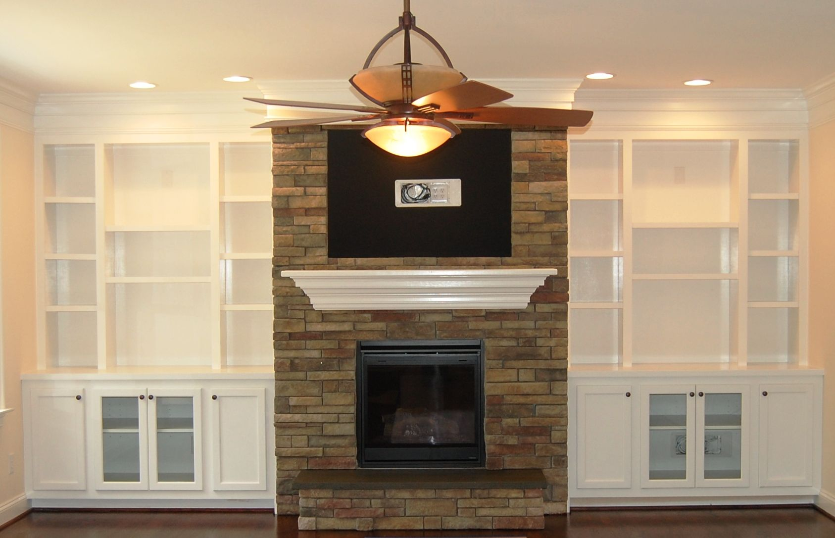 Built In Bookshelves Around Fireplace Shelves Around Fireplace On Pinterest | Bookshelves Around